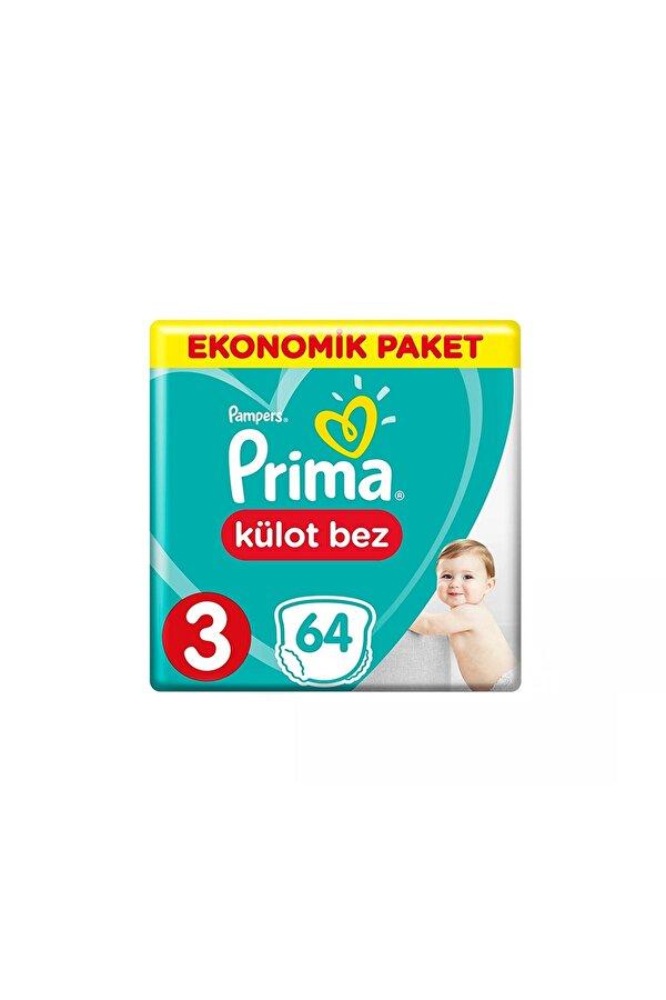 Resim PRIMA KULOT BEZ EKONOMIK 3 BEDEN 64LU - 8001090597632