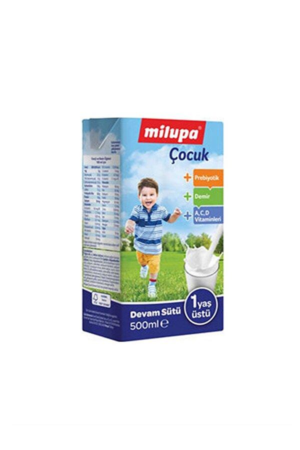 Resim MILUPA COCUK DEVAM SUTU 500ML 12 ADET - 8699745018498