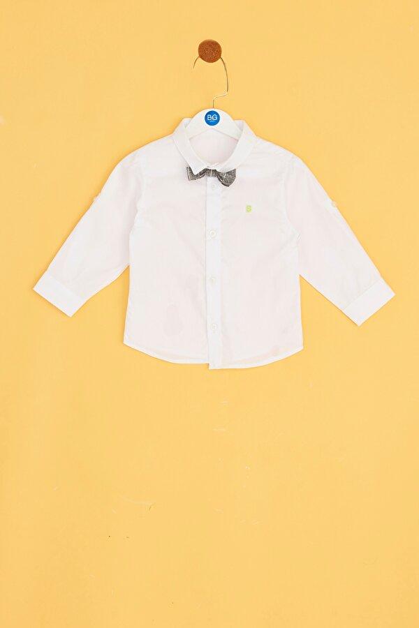 Resim Erkek Bebek Beyaz Gömlek