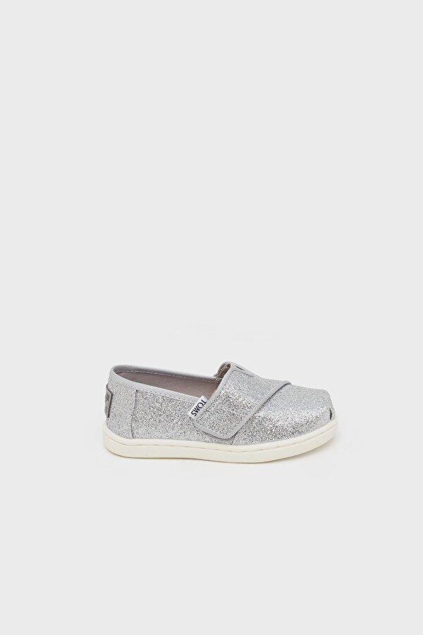 Resim Kız Çocuk Gümüş Ayakkabı