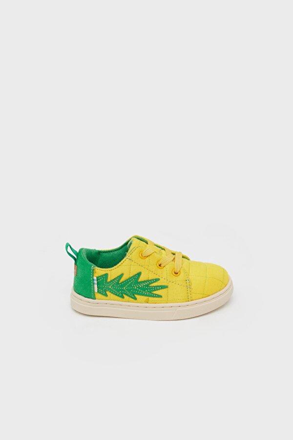 Resim Erkek Çocuk Sarı Ayakkabı