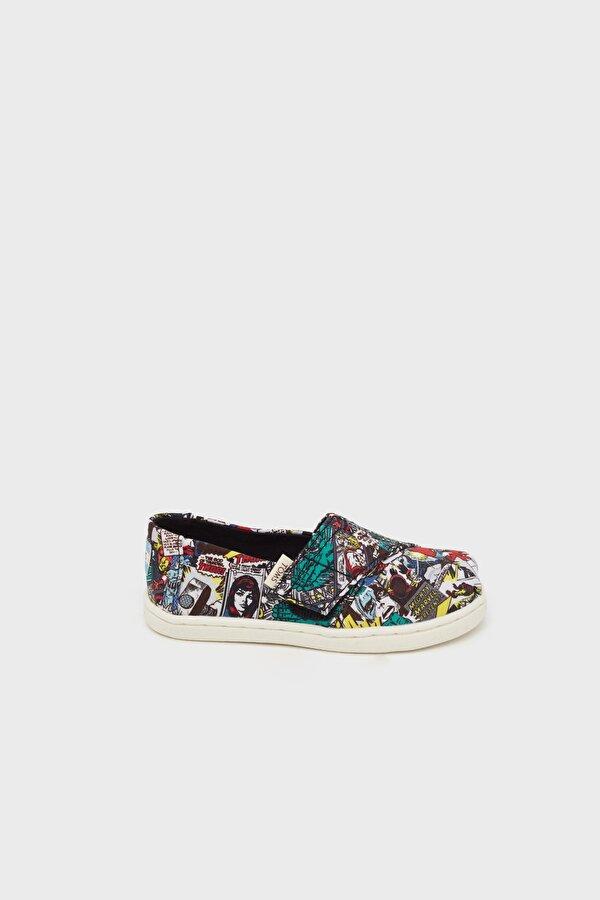 Resim Erkek Çocuk Renkli Ayakkabı
