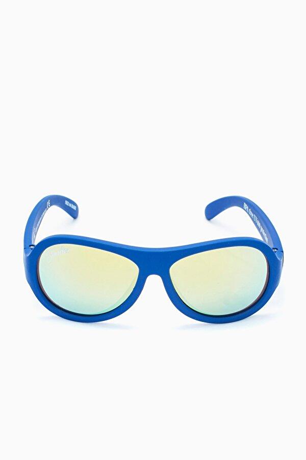 Resim Erkek Çocuk Mavi Gözlük