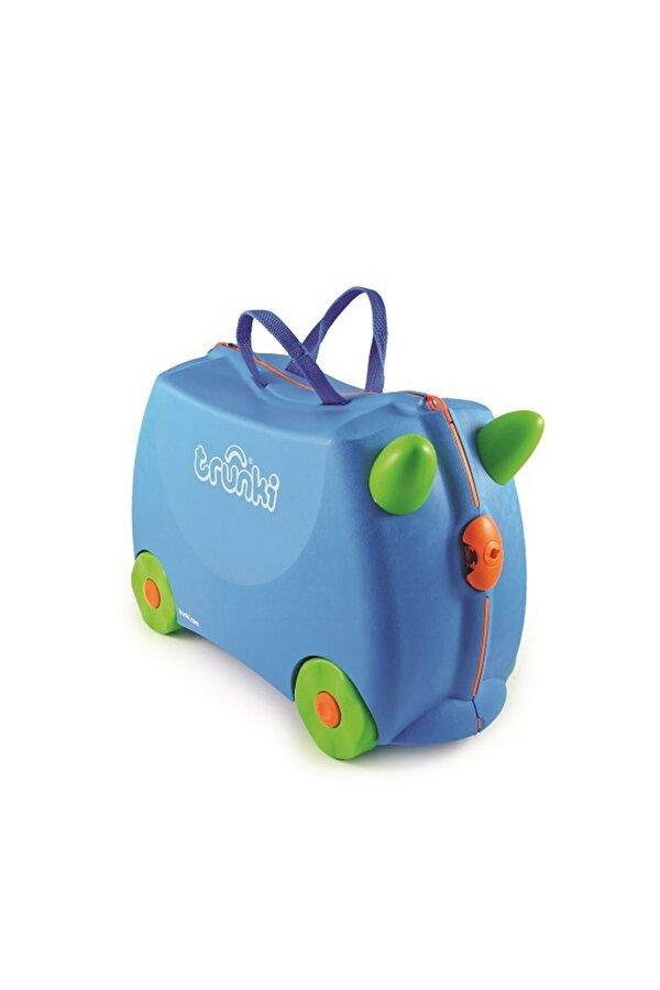 Resim Trunki Çocuk Bavulu - Mavi Terrance - 5055192200054