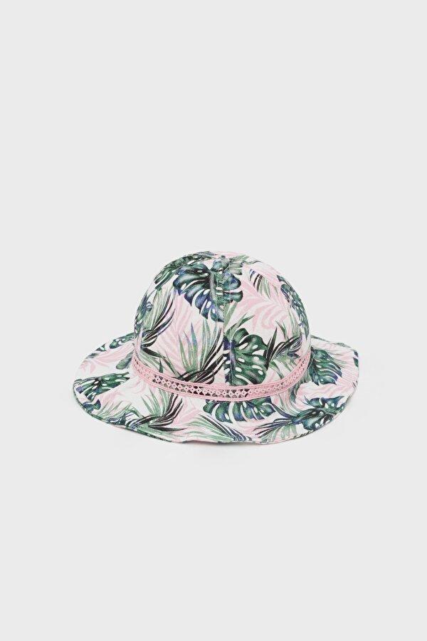 Resim Kız Bebek Desenli Şapka