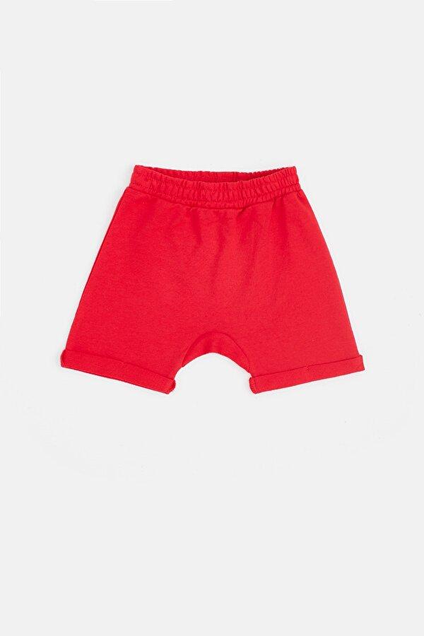 Resim Erkek Bebek Kırmızı Şort