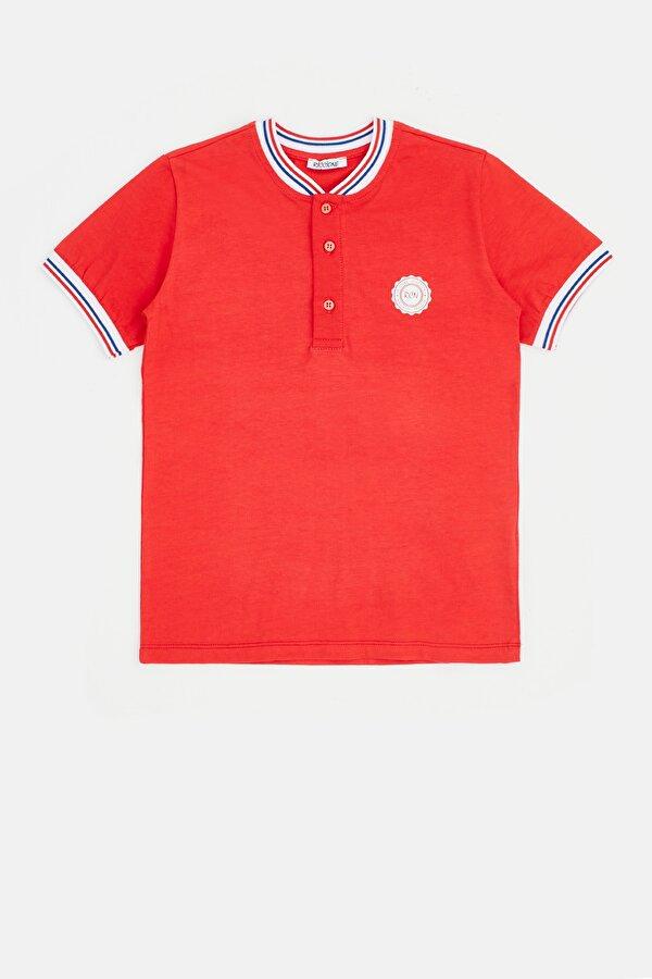 Resim Erkek Çocuk Kırmızı T-Shirt