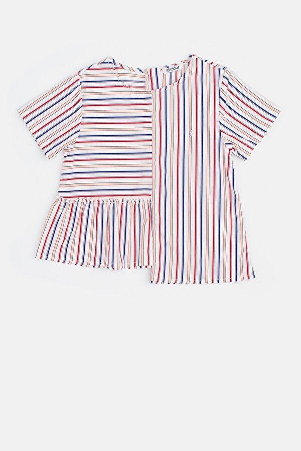 Resim Kız Çocuk Çizgili Bluz