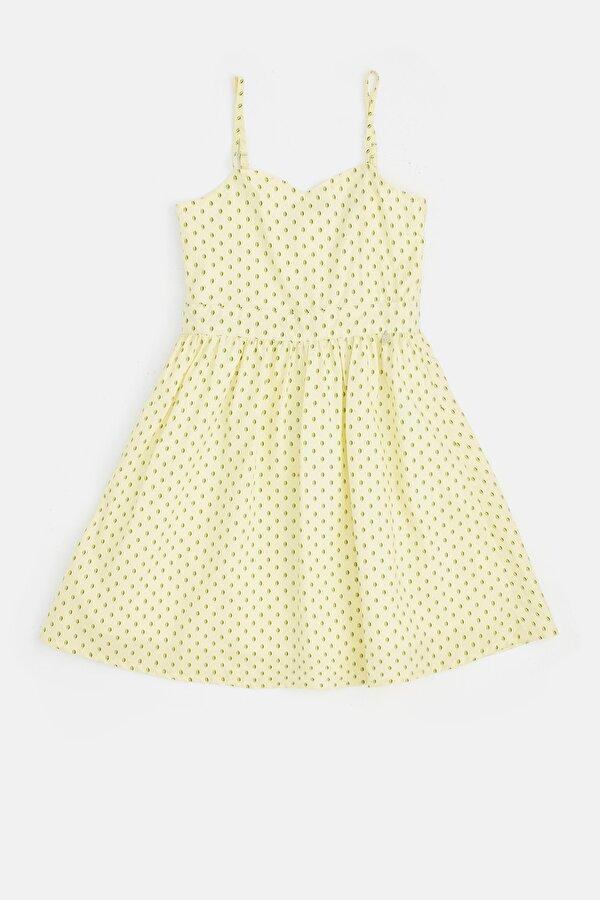 Resim Kız Çocuk Sarı Elbise