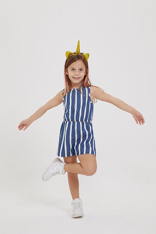 Resim Kız Çocuk Jean Tulum