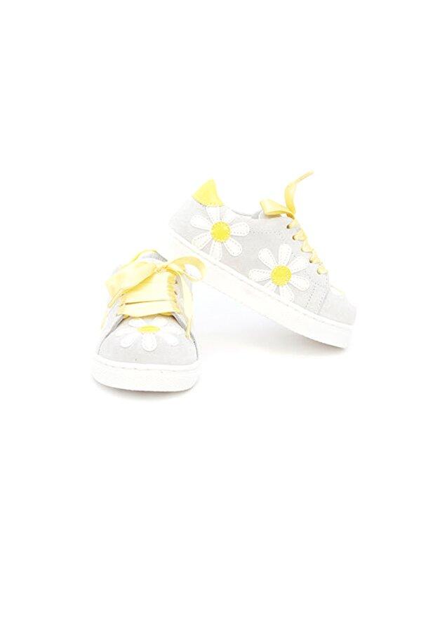 Resim Kız Bebek Gri Ayakkabı