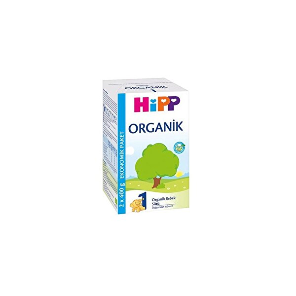 Resim HiPP 1 ORGANIK BEBEK SUTU 800 GR - 4062300349179