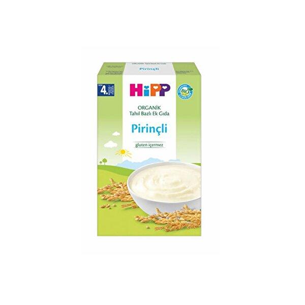Resim HiPP ORGANIK PIRINCLI TAHIL BAZLI EK GIDA 200 GR - 9062300118718