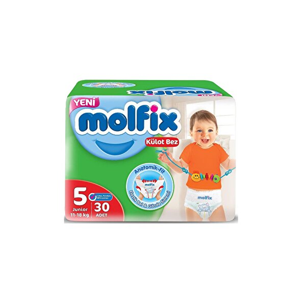 Resim MOLFIX PANTS JUMBO JUNIOR 30LU - 8690536842636