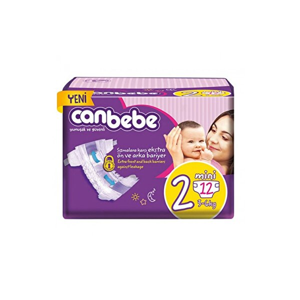 Resim CAN BEBE NORMAL NO:2 3-6 KG 12LI - 8690742100773