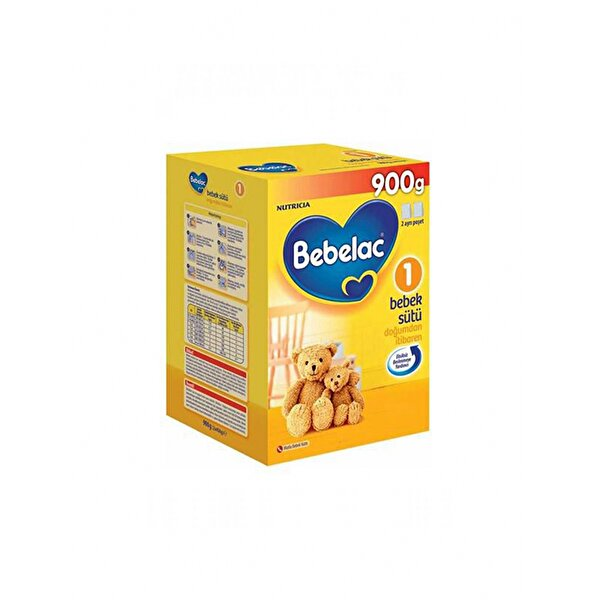 Resim BEBELAC 900 GR NO:1 BEBEK SUTU - 8699745011338