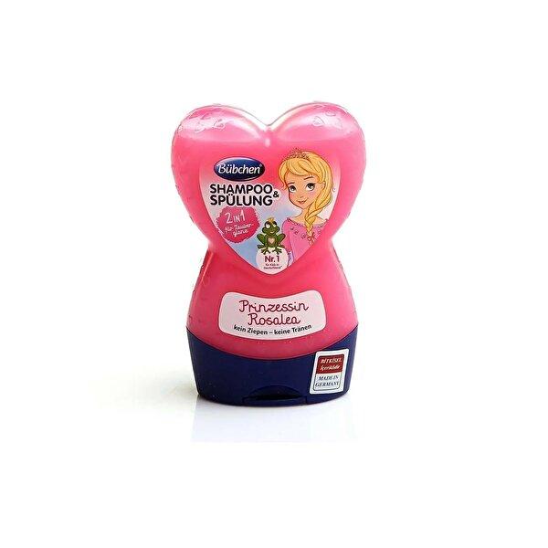 Resim Bübchen Çocuk Şampuan Balsam Prenses Rosalea 230ml - 7613035058446