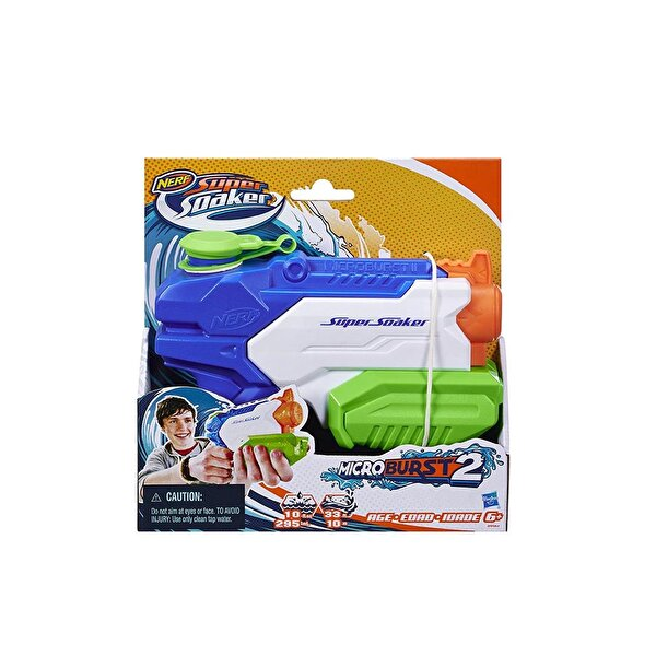 Resim HASBRO NERF SUPER SOAKER MICROBURST II - 5010993468935