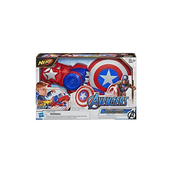 Resim HASBRO AVENGERS POWER MOVES CAPTAIN AMERICA - 5010993667857