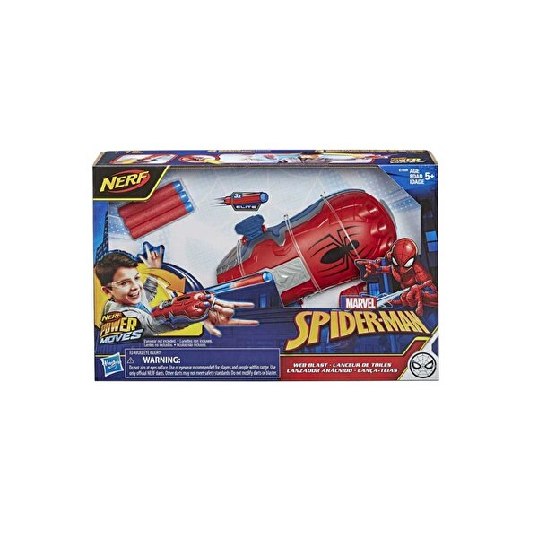 Resim HASBRO SPIDER-MAN ROLE PLAY POWER MOVES - 5010993675005