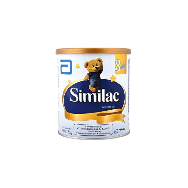 Resim Similac 3 360 gr Devam Sütü - 8699548994852