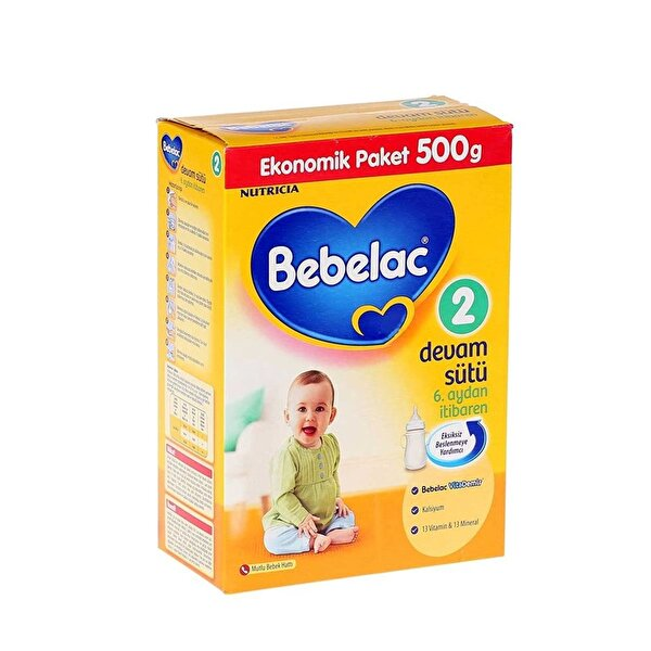 Resim BEBELAC 500 GR NO:2 DEVAM SÜTÜ - 8699745002978