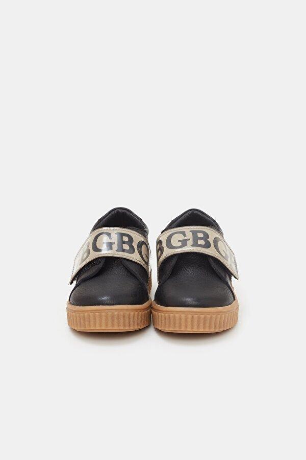 Resim Erkek Bebek Siyah Ayakkabı