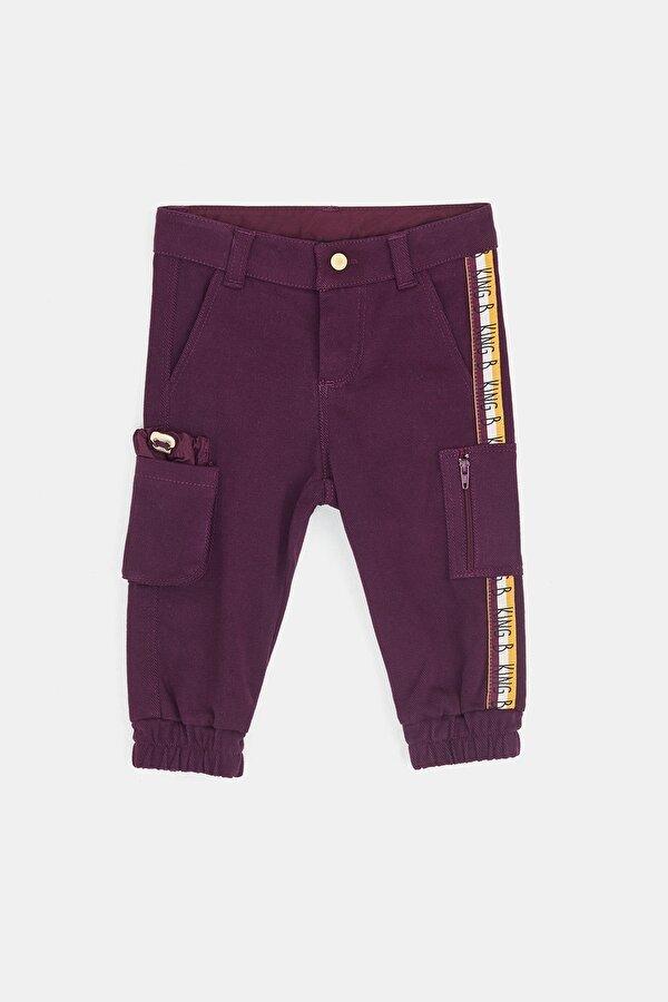 Resim Erkek Bebek Açık Mor Pantolon
