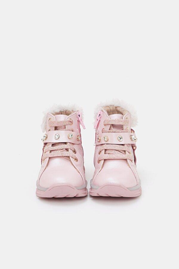 Resim Kız Bebek Pembe Ayakkabı