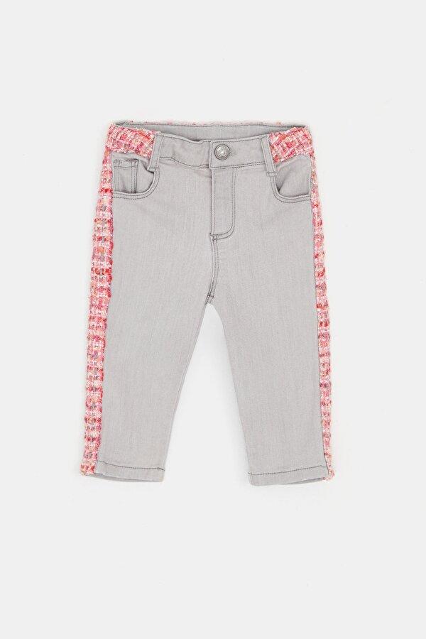 Resim Kız Bebek Gri Pantolon
