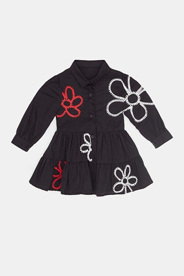 Resim Kız Bebek Siyah Elbise