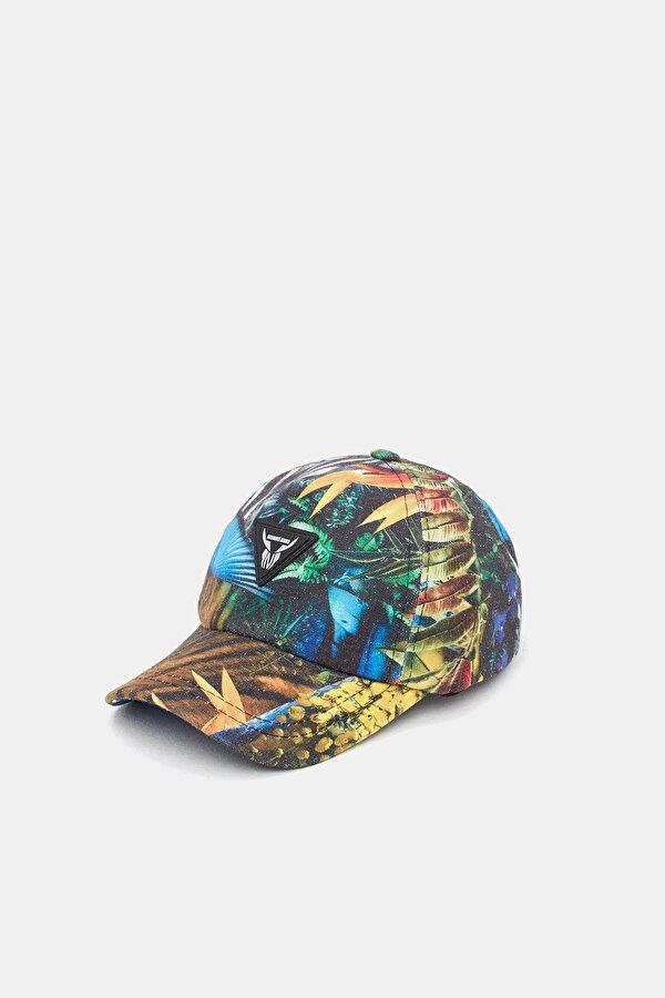 Resim Erkek Çocuk Desenli Şapka