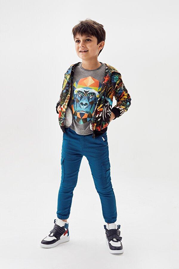 Resim Erkek Çocuk Saks Pantolon