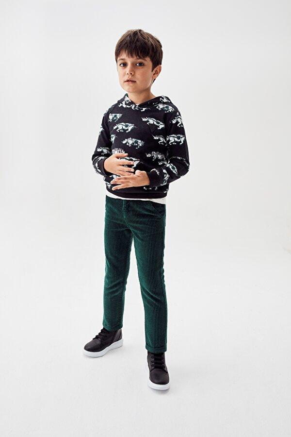 Resim Erkek Çocuk Yeşil Pantolon