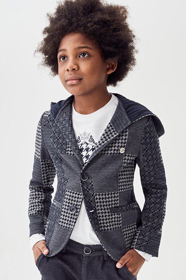 Resim Erkek Çocuk Desenli Ceket