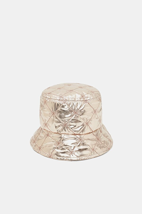 Resim Kız Çocuk Bronz Şapka