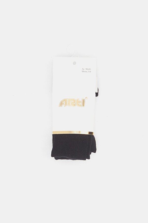 Resim Kız Çocuk Siyah Külotlu Çorap