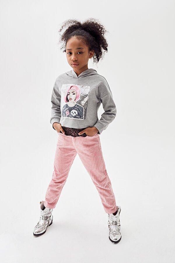 Resim Kız Çocuk Pembe Pantolon