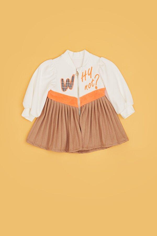 Resim Kız Bebek Renkli Elbise