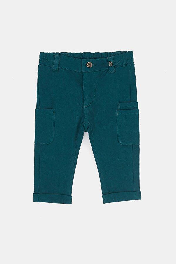 Resim Erkek Bebek Yeşil Pantolon