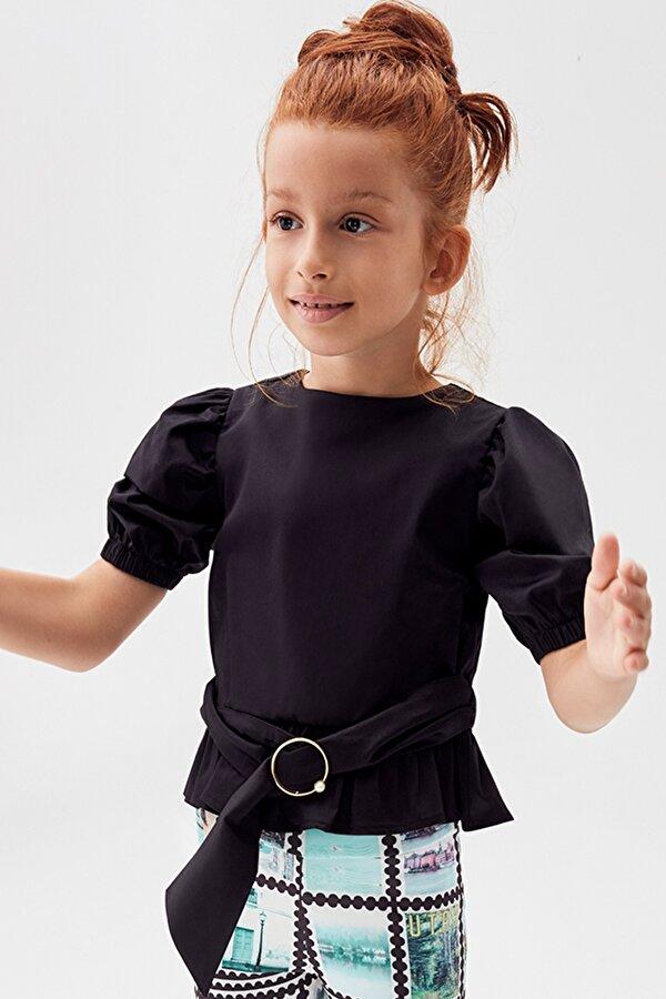 Resim Kız Çocuk Siyah Bluz