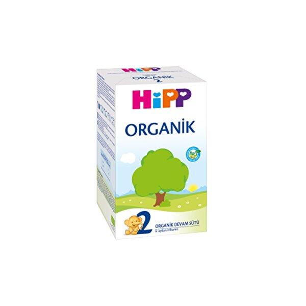 Resim HiPP 2 ORGANIK DEVAM SUTU 600 GR - 9062300125440