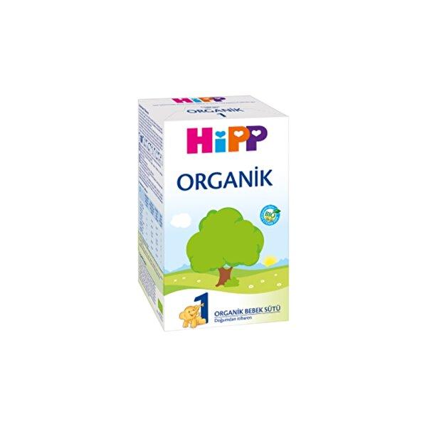 Resim HiPP 1 ORGANIK BEBEK SUTU 600 GR - 4062300349179