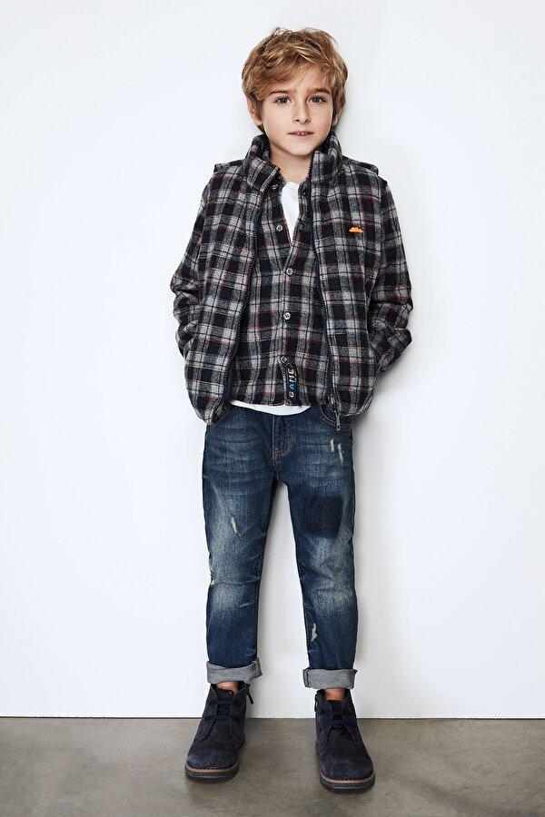 Resim Erkek Çocuk Jean Pantolon