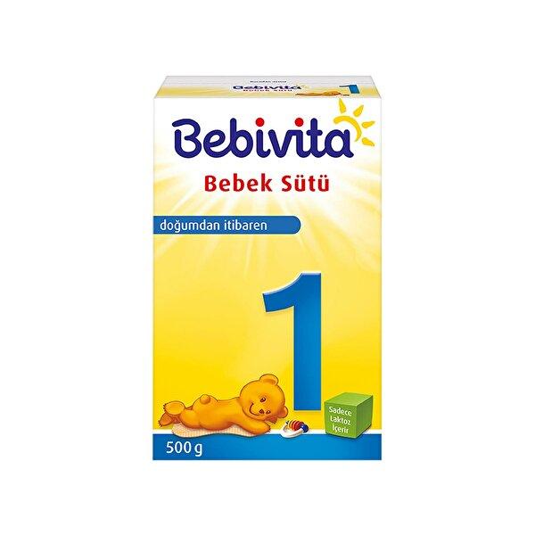 Resim BEBIVITA 1 Bebek Sütü 500GR - 4018852021483
