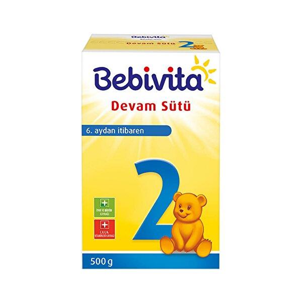 Resim BEBIVITA 2 Devam Sütü 500GR - 4018852021513