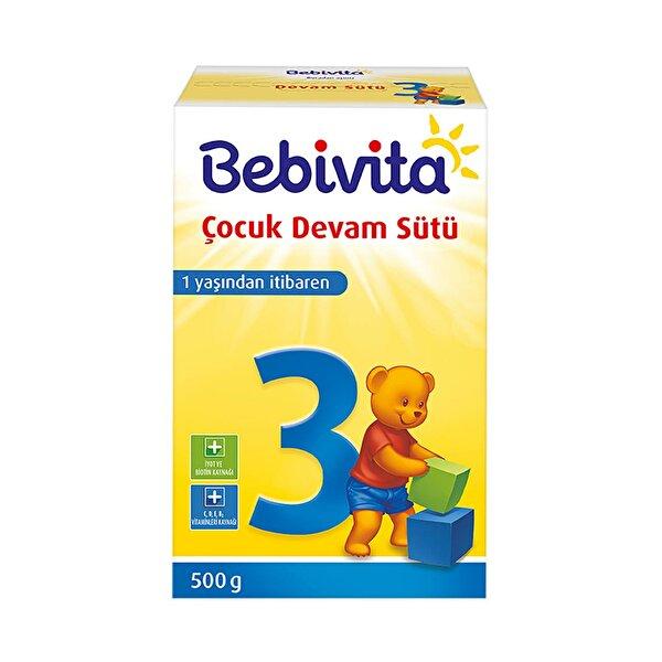 Resim BEBIVITA 3 Devam Sütü 500GR - 4018852021575