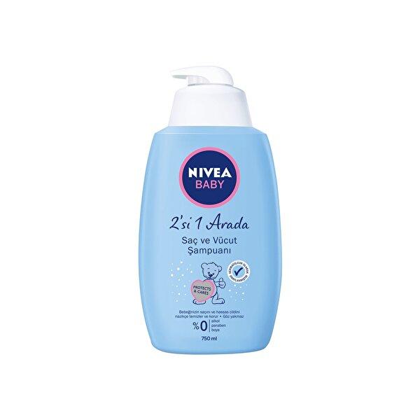 Resim Nivea Baby Saç Ve Vücut Şampuanı 750ml - 4005808707539