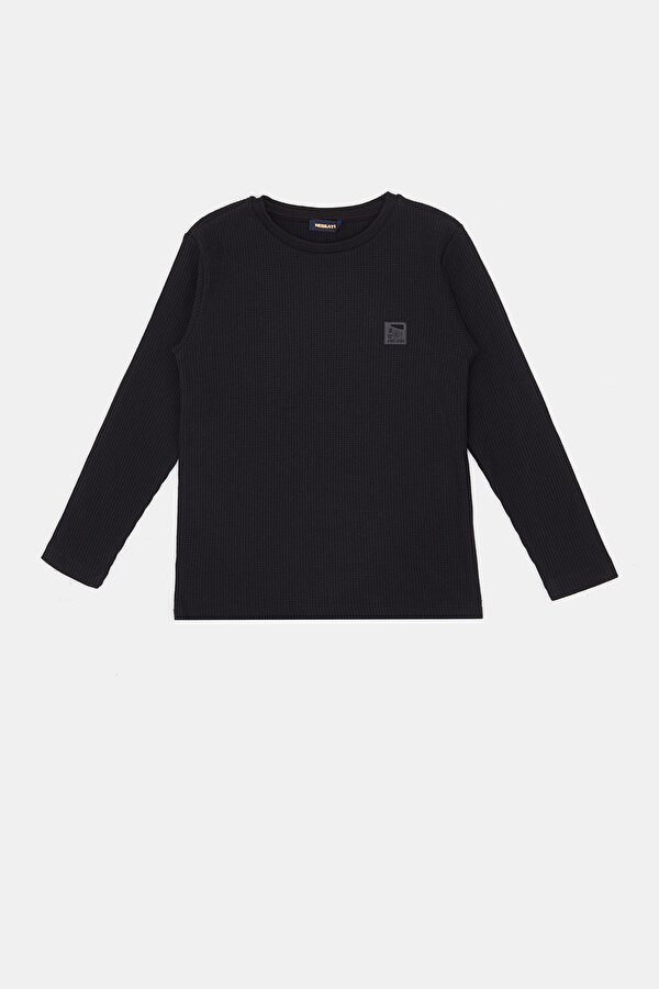 Resim Erkek Çocuk Siyah T-Shirt