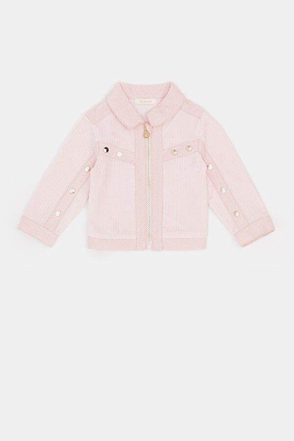 Resim Kız Bebek Pembe Ceket